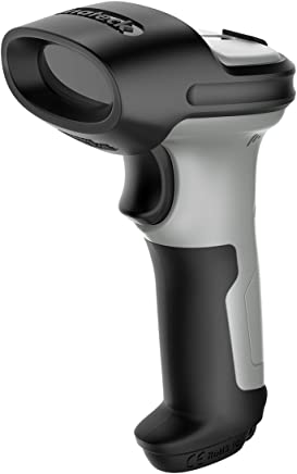 Inateck Bluetooth Barcode Scanner, Working Time Approx. 15 Days, 35m Range, Automatic Fast and Precise scanning, BCST-70