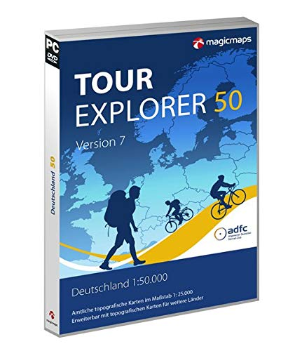 TOUR Explorer 50 Deutschland, Version 7.0