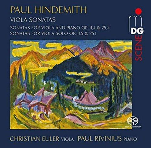 Hindemith: Sonatas for Violin