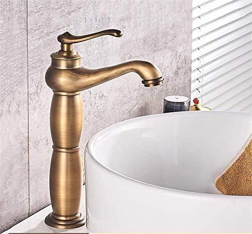 Comfortabele kraan voor de badkamer, koud- en warmwaterkraan, volledig koper, met keramische ventiel, kern/ABS, spuitmond, inbouwopening, 3,5 cm, Europese pan van roestvrij staal, praktisch, uniek