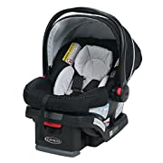 Snug Lock Technology - A Hassle-Free 3-Step installation using vehicle seat belt or LATCH Infant car seat grows with and helps protect rear-facing infants from 4 to 30 pounds and up to 30 inches Adjustable base offers 4 recline positions, providing t...