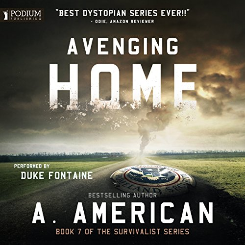 Avenging Home audiobook cover art