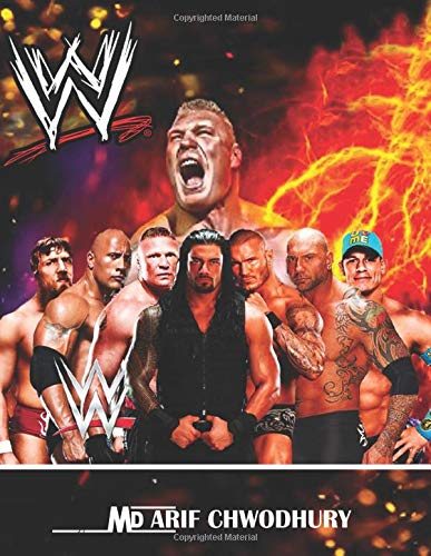 WWE Heros Coloring Book 100 page: Kids Coloring Book