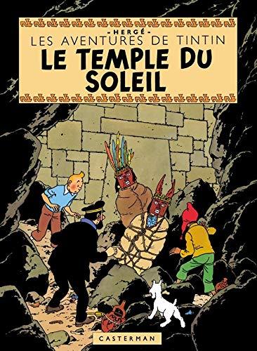 Les Aventures de Tintin : Le Temple du soleil : Edition fac-similé en couleurs
