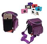 Navitech Étui de transport violet compatible avec Polaroid snap touch