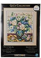 "Gold Collection Oriental Splendor Counted Cross Stitch Kit-12""X14"" 18 Count (並行輸入品) [並行輸入品]"