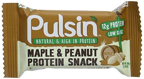 Pulsin' Protein Bar, Maple and Peanut