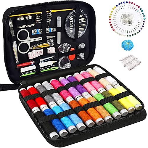 McNory Kit de costura con 176 piezas Accesorios de costura premium con...