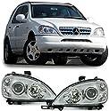 Carparts-Online 22361 Klarglas Scheinwerfer H7 H7 Facelift Optik