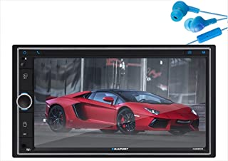 $91 » Blaupunkt Camden18 Double Din Car Stereo in-Dash 6.9-Inch Touchscreen Multimedia Receiver with Bluetooth, AM/FM, Aux Inpu...