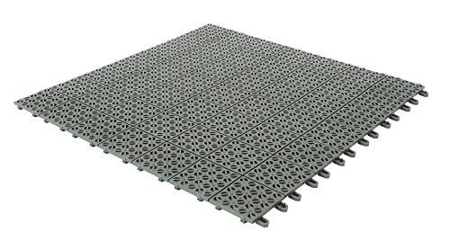 Multiplate wandtegel outdoor, grijs, 55,5 x 55,5 x 1,2 cm