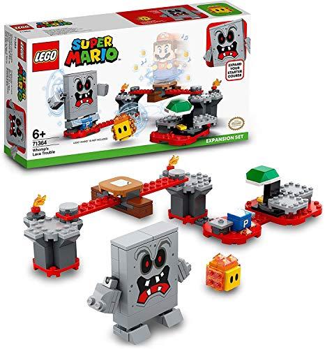 LEGO Super Mario Guai con la Lava di Womp - Pack di Espansione, Giocattolo, Set di Costruzioni, 71364