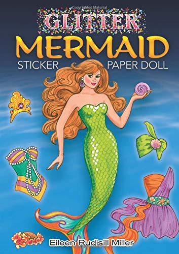 Glitter Mermaid Sticker Paper Doll (Dover Little Activity Books Paper Dolls)の詳細を見る