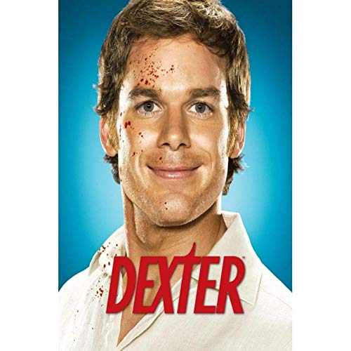 DFGAD Movies Dexter Diamond Painting, DIY 5D Rhinestone Embroidery Drawing, Mosaic Arts Craft Kit, for Fashion Home Decor 40x50cm