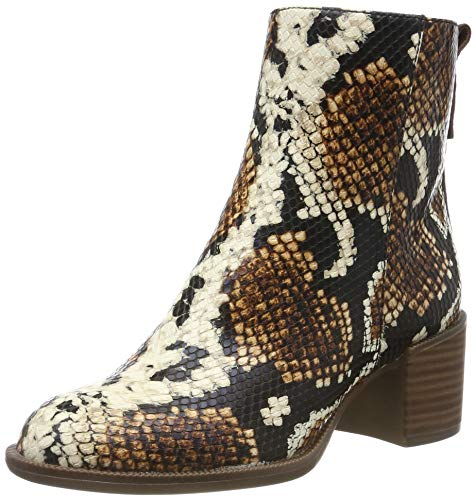 Tamaris Damen 1-1-25947-33 327 Chelsea Boots Stiefeletten, Braun Muskatin Schlange 327, 38 EU
