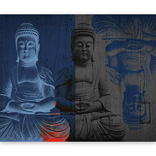 murando Papier peint intissé 50x39 cm Décoration Murale XXL Poster Tableaux Muraux Tapisserie Photo Trompe l'oeil Buddha 10040907-45