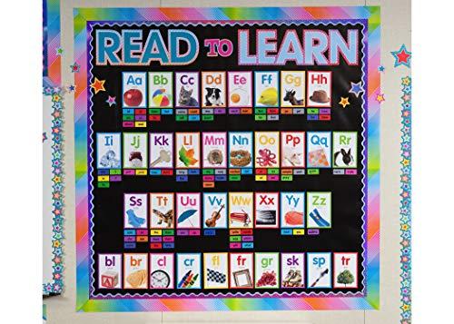 Colorful Photo Alphabet Cards Bulletin Board Photo #4