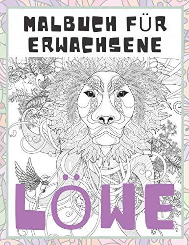 Löwe - Malbuch für Erwachsene