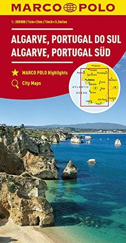 Marco Polo Algarve - Zuid-Portugal: Wegenkaart 1:200 000