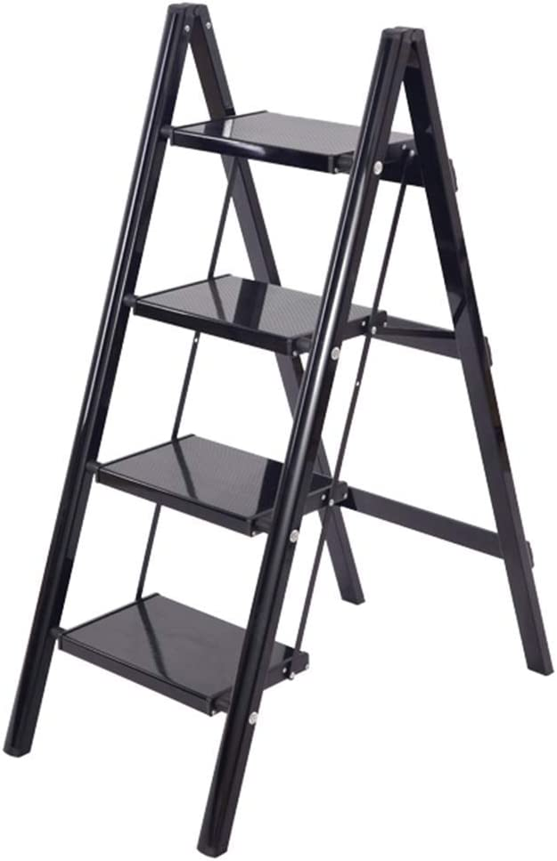 HLL Step Stool Ranking TOP1 Multi-Function Household security 4- Ladder Folding