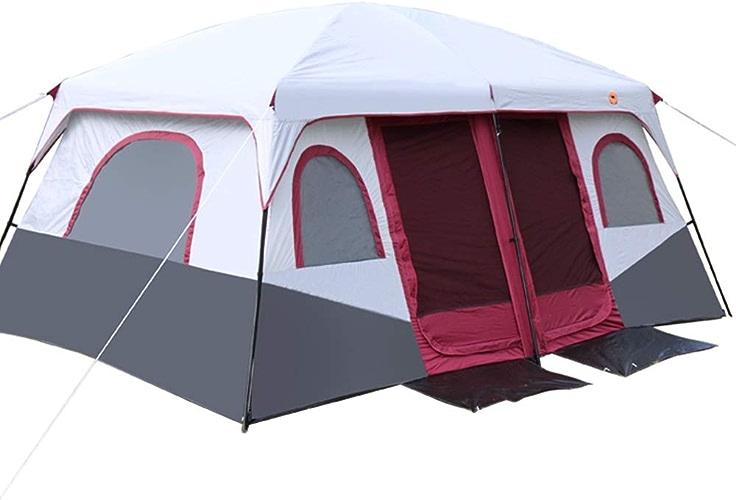 SXY888 Tente-Tent Camping extérieur 1 Chambre avec Deux Chambres