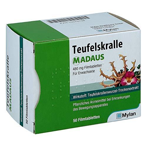 Teufelskralle MADAUS Filmtabletten, 50 St. Tabletten