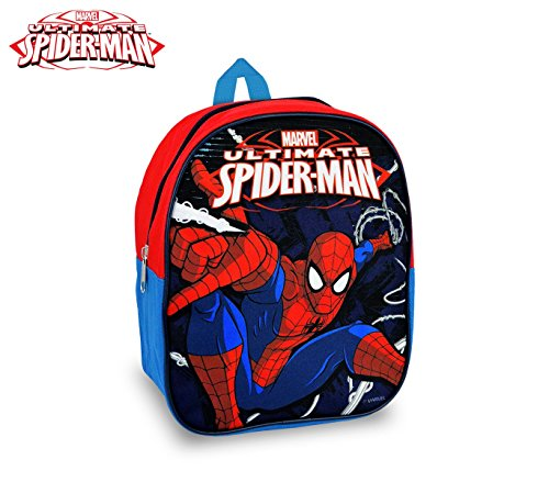SP16502 Zaino scuola asilo e tempo libero Spiderman 24x20x9 cm. MEDIA WAVE store