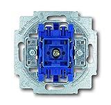 Busch-Jaeger 2000/6USGL 1012-0-1127 Wechselschalter Mit Beleuchtung 250 V, Blau, Grau