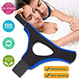 Best Snoring Aids - Anti Snoring Chin Straps,Ajustable Stop Snoring Solution Snore Review