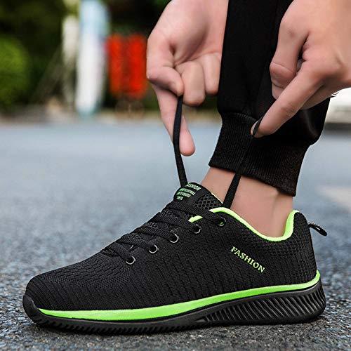 N-B Zapatos de jogging de los hombres de suela gruesa blancos zapatos deportivos al aire libre zapatos de deporte de los hombres de los deportes de entrenamiento zapatos de jogging