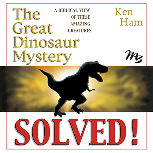The Great Dinosaur Mystery Solved audiobook cover art