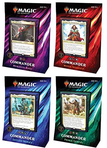 Magic: The Gathering Commander 2019 Decks | All 4 Decks