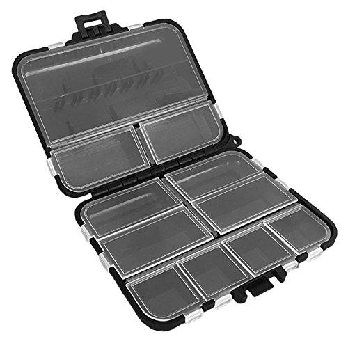 Gosear Portable léger Multi-usages boîte de Rangement de pêche étui pour leurres appâts Tackles Crochets de pêche Accessoires