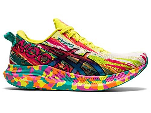 ASICS Women's Noosa Tri 13 Running Shoes, 8M, HOT Pink/Sour Yuzu