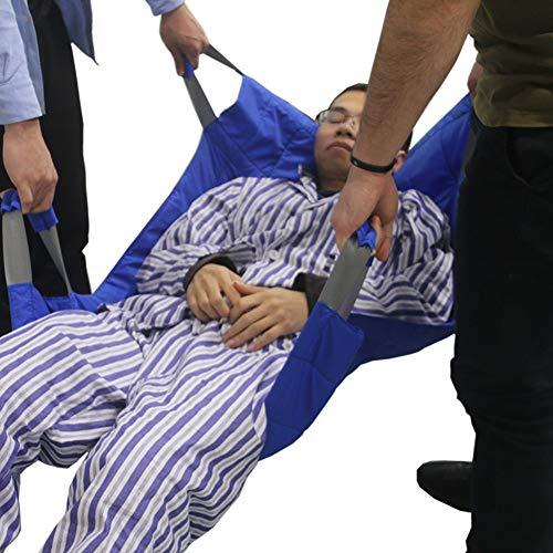 51ZVMJnL6YL - Hmlopx Médico Honda Levantamiento Protector Calzoncillos Adulto Incontinencia Cama Almohadillas Dibujar Hoja Transferencia Levantar para Hospital Mayor Cama Pacientes,A