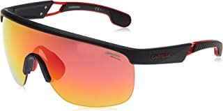 Carrera Men's 4004/S W3 003 Sunglasses, Matt Black/Rd Red, 99