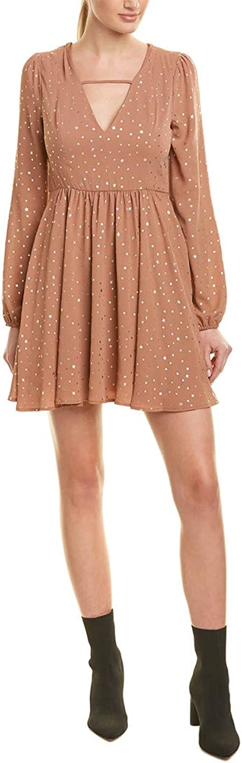 BCBGeneration Women's Fitted Long Sleeve Dress