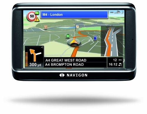 NAVIGON 40 Premium Live Navigationssystem (10,9cm (4,3 Zoll) Display, Europa 43, TMC, Bluetooth 2.0, One Click Menu, NAVIGON Live Services, TTS)