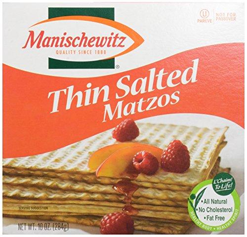 Manischewitz, Matzos Thin Salted, 10 oz