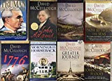 David McCullough History Novel Collection 8 Book Set