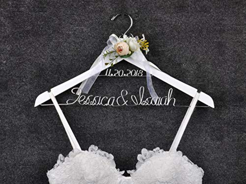 Bride Hanger Wedding Hanger Wedding Gift Personalized Bride Hanger Honor Maid Bridesmaid Doctor Graduation Dress Hanger