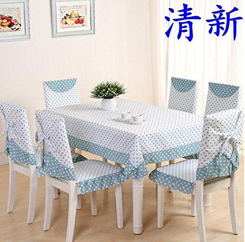 XINGYUNXING nappes pastorales de Dentelle, Tissu de Table, Linge de Table, Chaise Linge de Table Coussin, Couverture de Chaise,150 * 200CM
