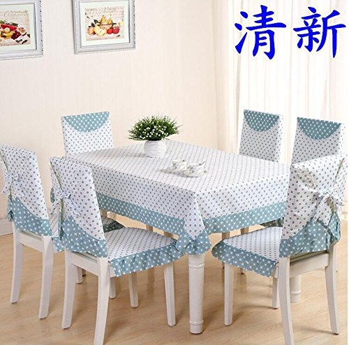 XINGYUNXING nappes pastorales de Dentelle, Tissu de Table, Linge de Table, Chaise Linge de Table Coussin, Couverture de Chaise,150 * 200CM