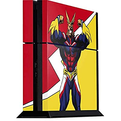 Skinit Decal Gaming Skin for PS4 Console - Officially Licensed Funimation All Might Design