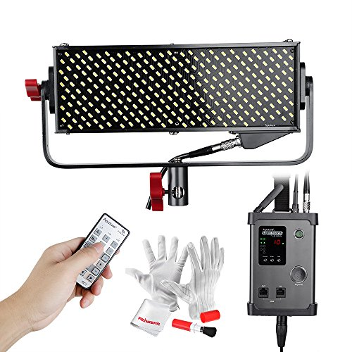 Aputure Light Storm LS 1/2w CRI98 264 LED Video Light Panel Ultra-Small Ultra-Thin with A-mount Plate and DMX512 Connector for Perfect Color