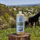Relax Champú de aceite de nim, 1 litro, serie de cuidado para caballos, v Biocare