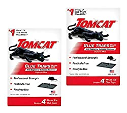 professional Tomcat Mouse Glue Trap W / Eugenol – Pack of 8