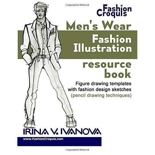 Fashion Design Sketch Book: Amazon com