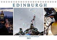 EDINBURGH. Glanzlichter aus Stadt und Region. (Tischkalender 2022 DIN A5 quer): Es gibt Ein- und Ausblicke in die Landschaft und fuehrt zu verwunschenen Orten wie Inchcolm, Linlithgow Palace, zum Avon Aqueduct oder in den Edinburgh Zoo. (Monatskalender, 14 Seiten )