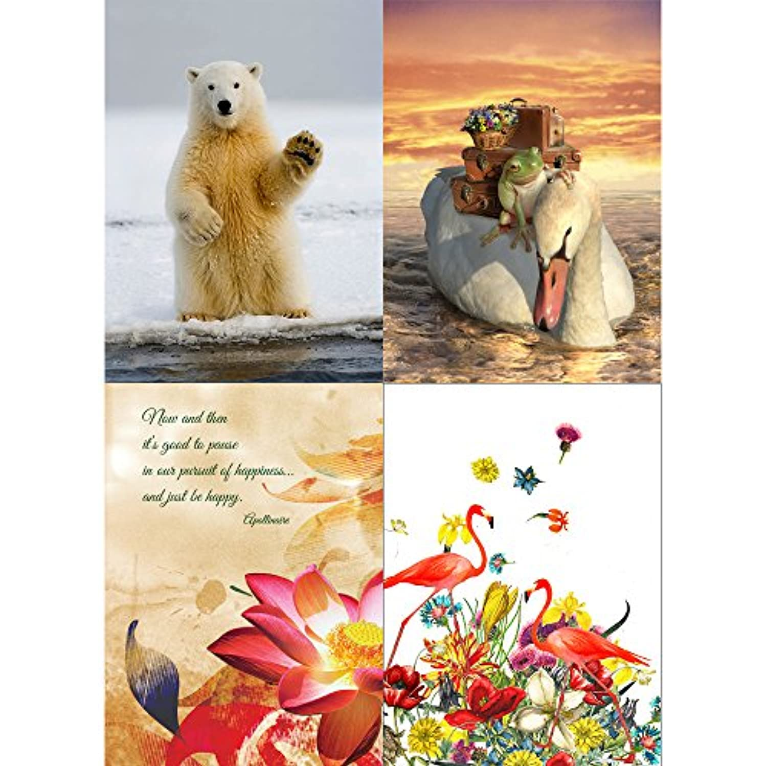 Tree-Free Greetings We will miss you Retirement Card Assortment, 5 x 7 Inches, 8 Cards and Envelopes per Set (GA31499)